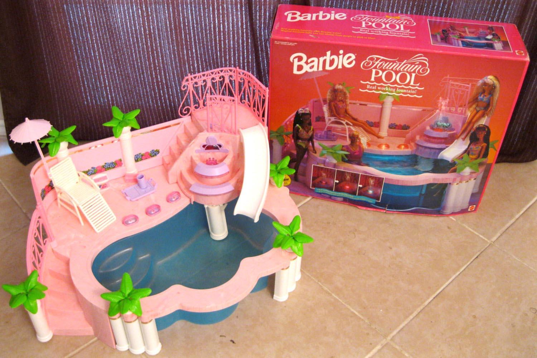 1993 Barbie Fountain Pool