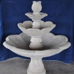 3 Tier Concrete Fountain