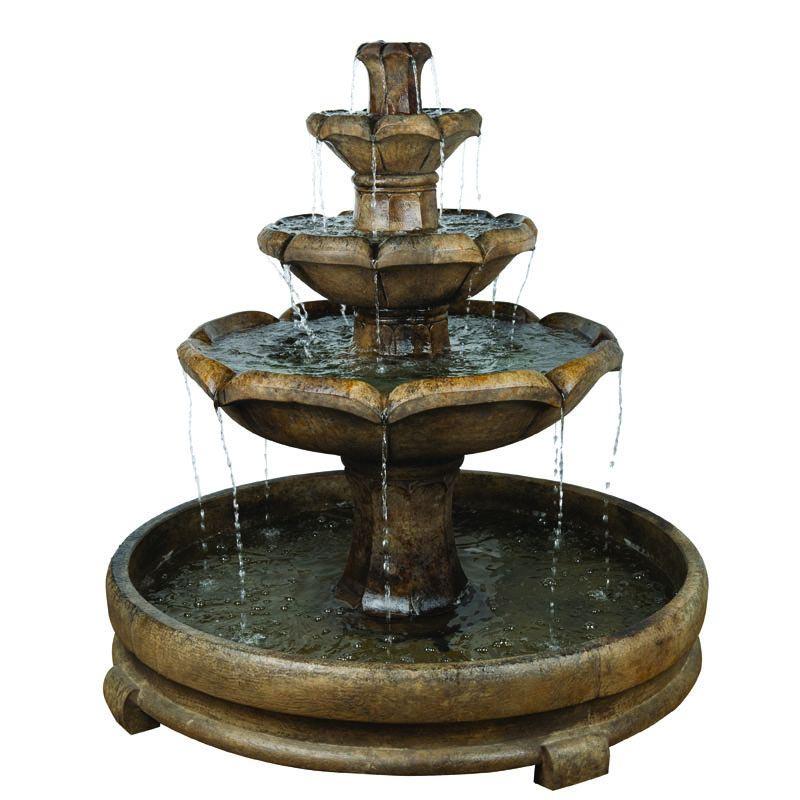 3 Tier Concrete Water Fountain