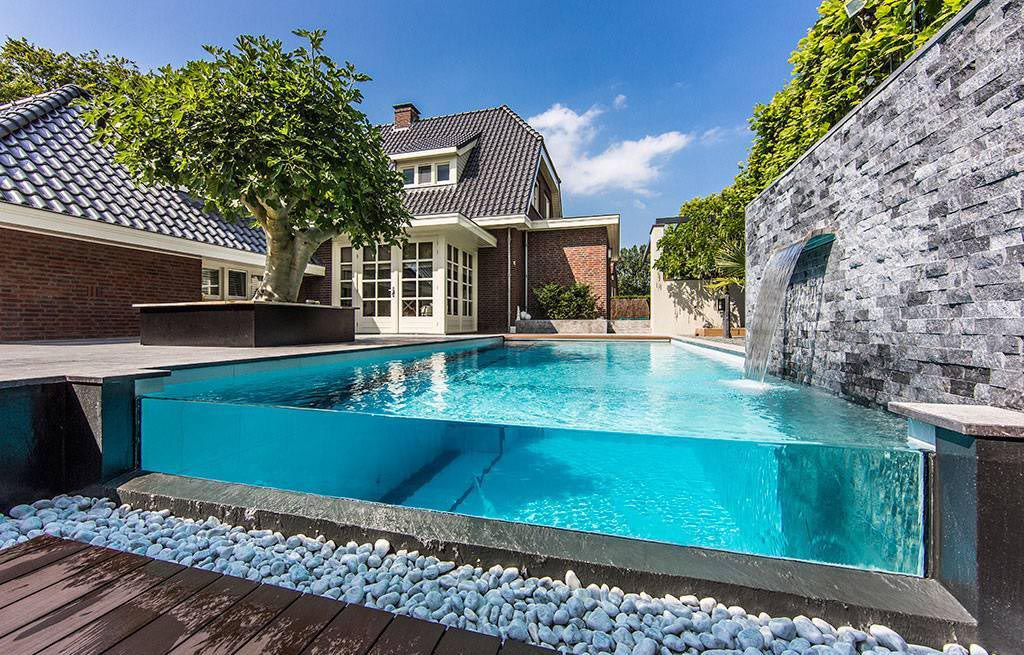 Above Ground Pool Fountains and Waterfalls