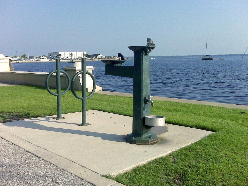 ADA Compliant Outdoor Drinking Fountains