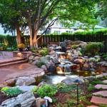 Backyard Creek Water Feature