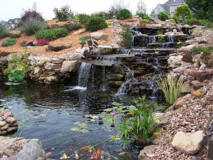 Backyard Fountains and Waterfalls