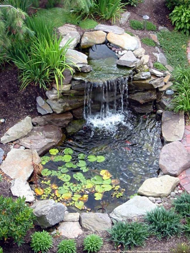 Backyard Pond Fountains