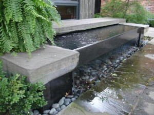 Backyard Water Feature Pictures