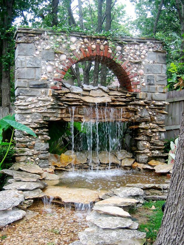 Backyard Water Features Waterfalls