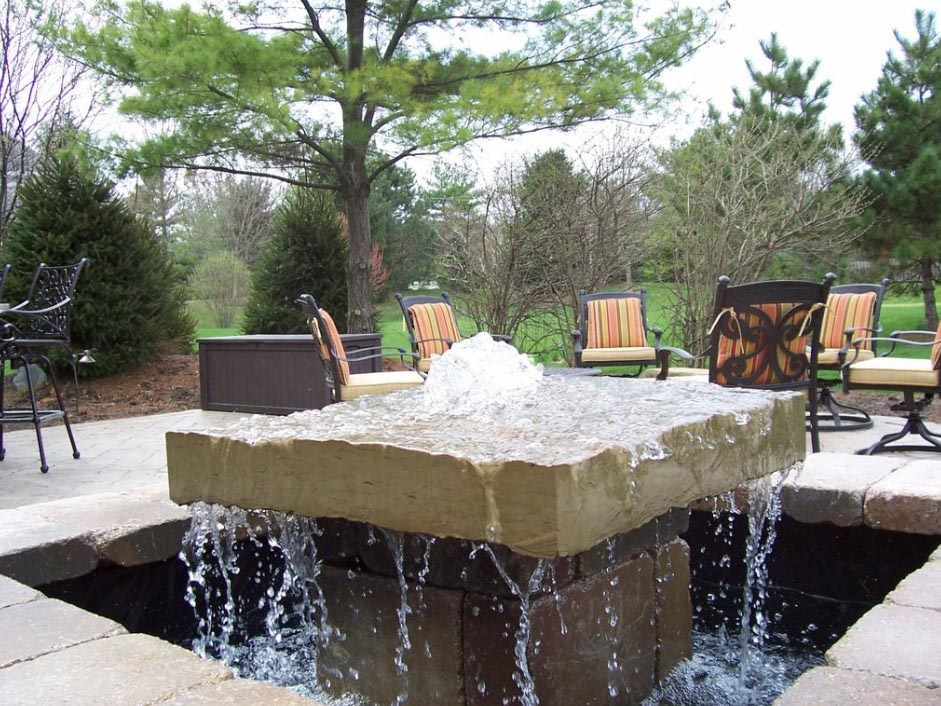 Functions and types of backyard water fountain fountain Backyard water features