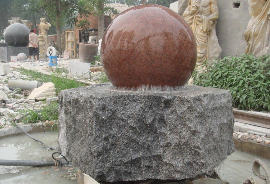 Ball Fountain Stone