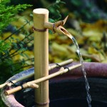 Bamboo Fountain Spout