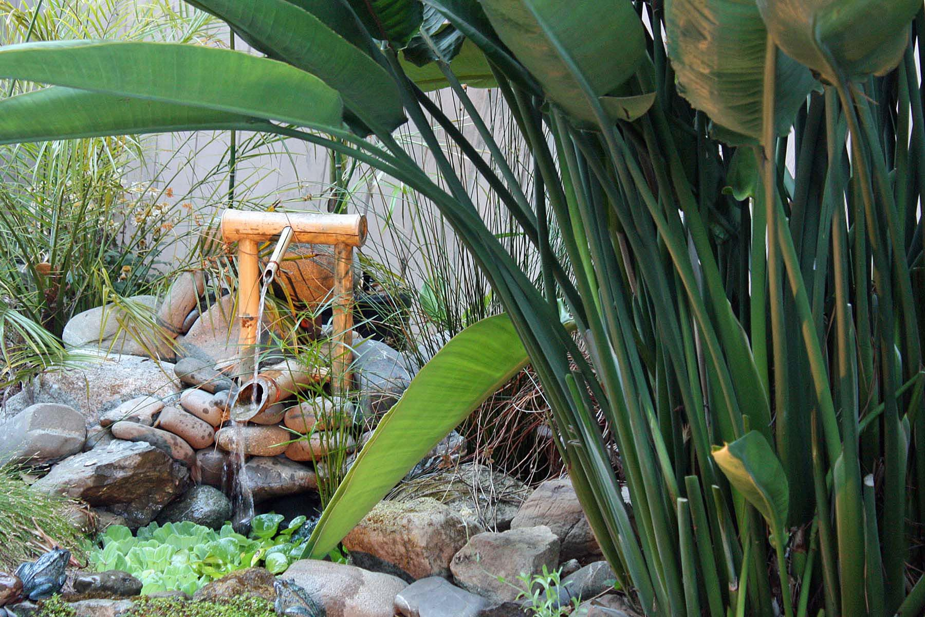 Bamboo Garden Fountain