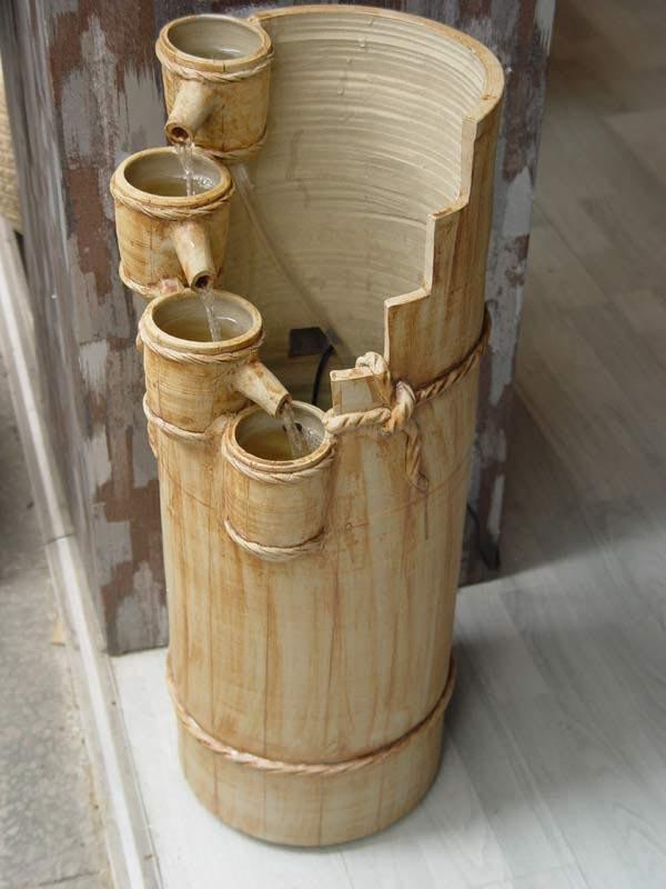 Bamboo Rocking Fountain