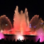 Barcelona Fountain Light Show