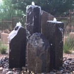 Basalt Rock Fountain