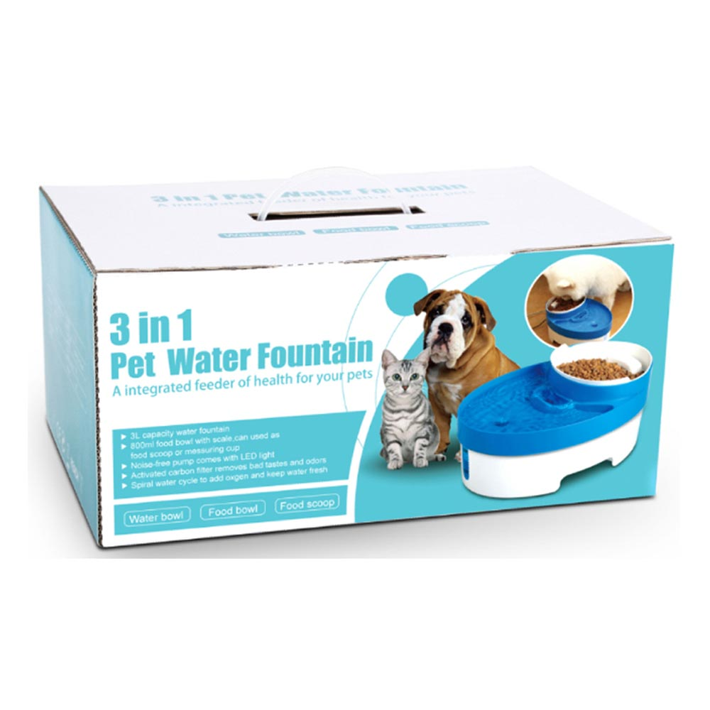 Battery Operated Dog Drinking Fountain
