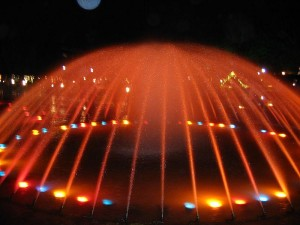 Brindavan Gardens Musical Fountain