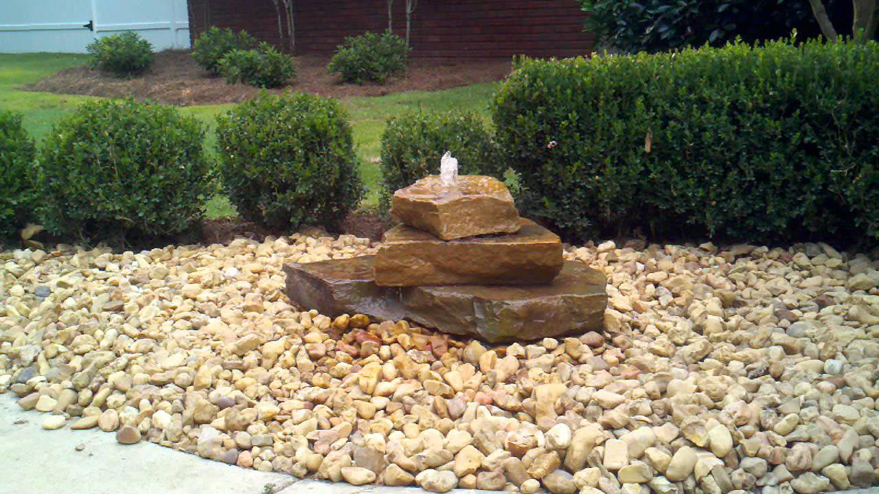 Bubbling Rock Fountain