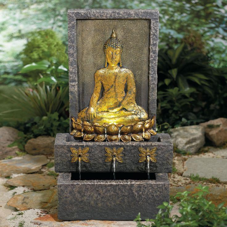 Buddha Fountains: Buddha Garden Fountain
