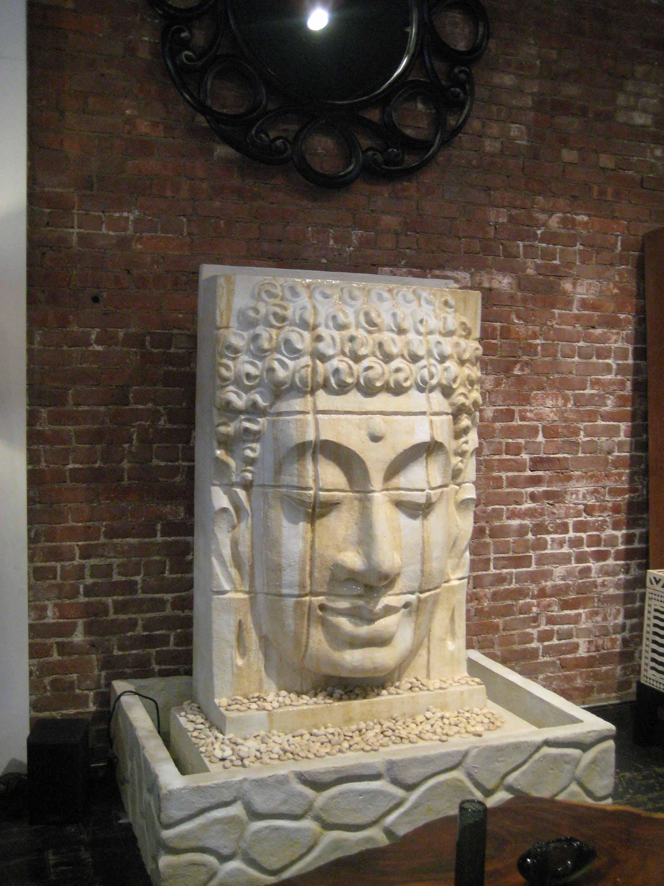 Buddha water fountain indoor fountain design ideas buddha water fountain indoor workwithnaturefo