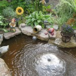 Building Backyard Water Feature
