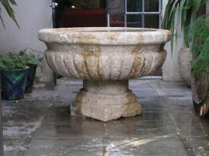 Cantera Stone Fountains