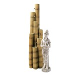 Cascading Bamboo LED Fountain