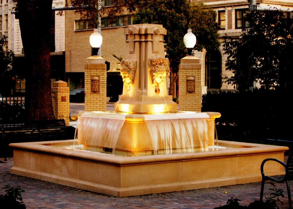 Cast Stone Fountain