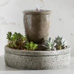 Cast Stone Outdoor Fountains