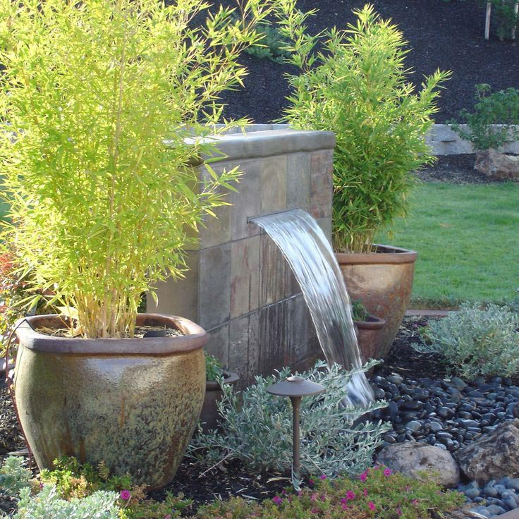 Cement Fountains for the Garden