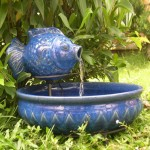 Ceramic Fountains Outdoor