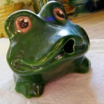 Ceramic Frog Fountain