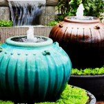 Ceramic Garden Fountains