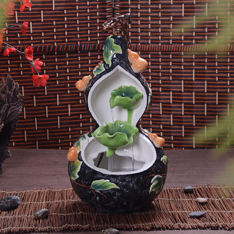 Ceramic Tabletop Fountain