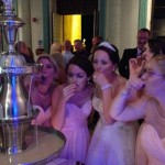 Champagne Beverage Fountain