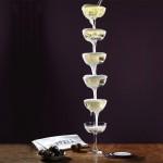 Champagne Fountain Glasses