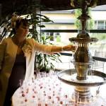 Champagne Fountain Hire Ireland