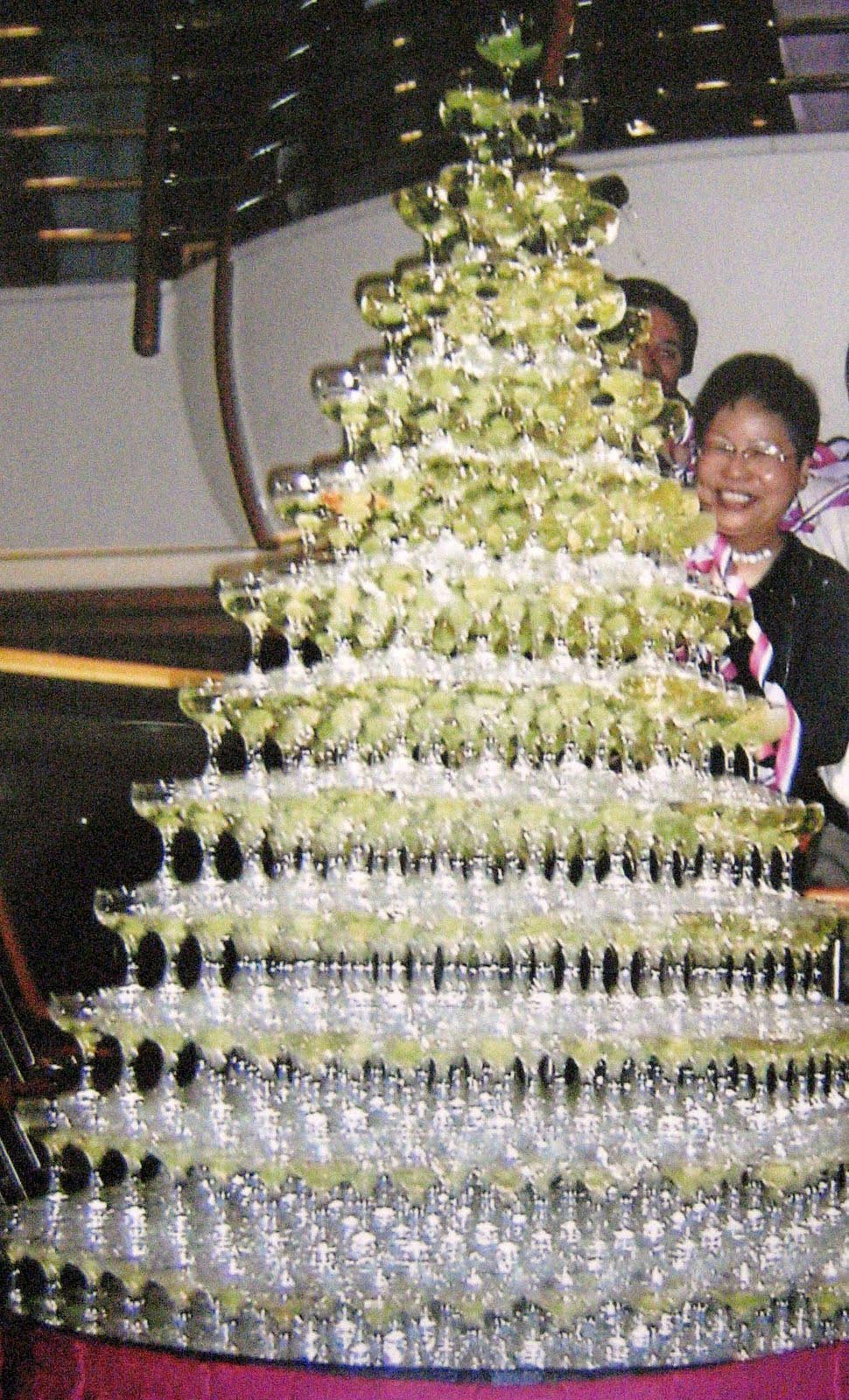Champagne Fountain Hire Johannesburg