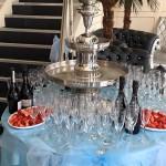 Champagne Fountain Hire Liverpool