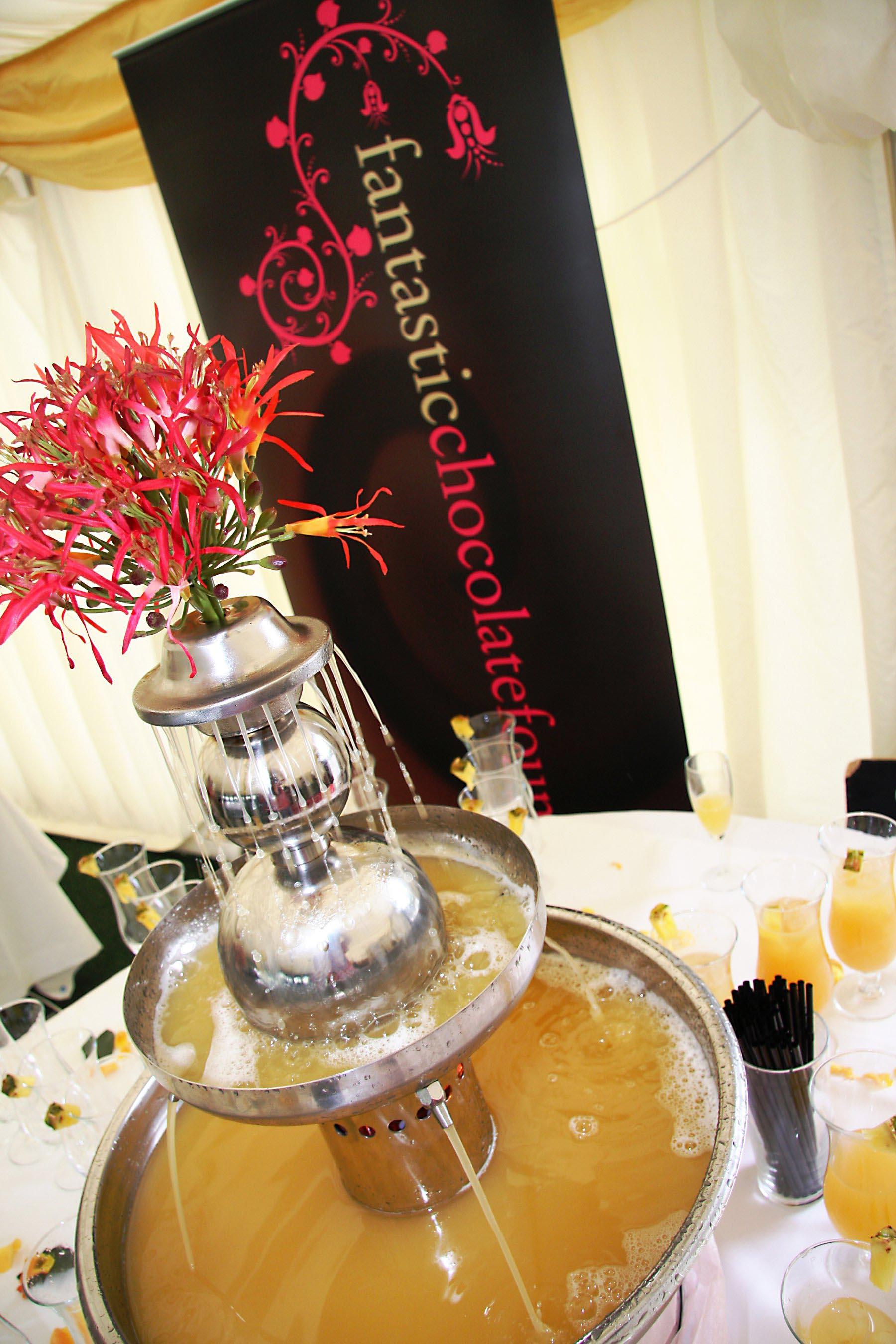 Champagne Fountain Hire Northern Ireland
