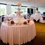 Champagne Fountain Wedding