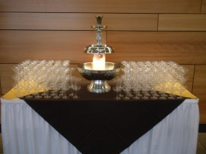 Champagne Fountains Rentals