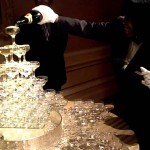 Champagne Glass Fountain