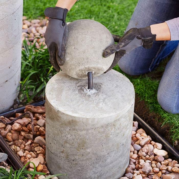 Concrete Fountain Base