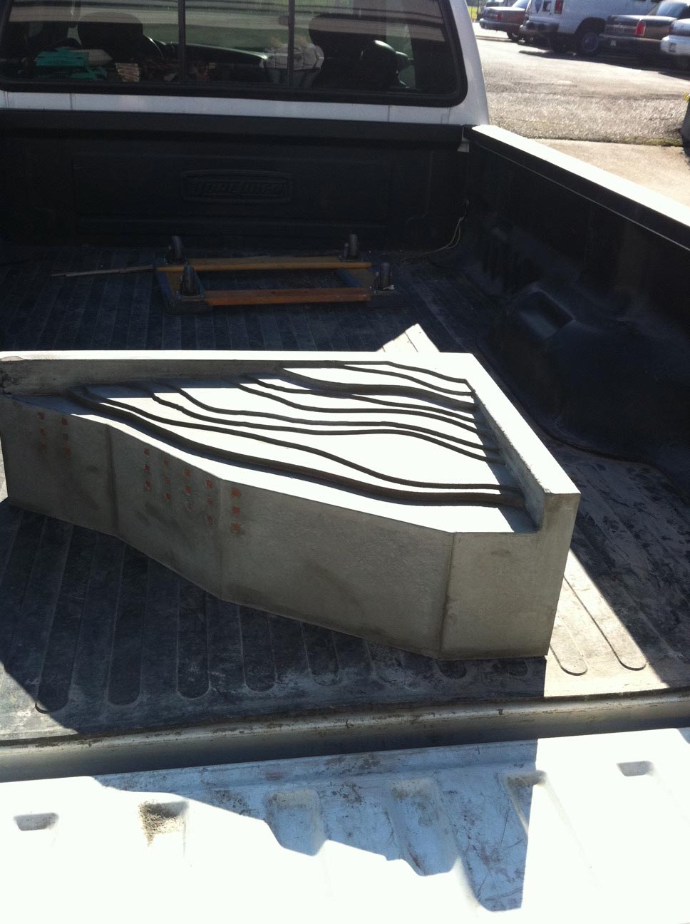 Concrete Fountain Basin