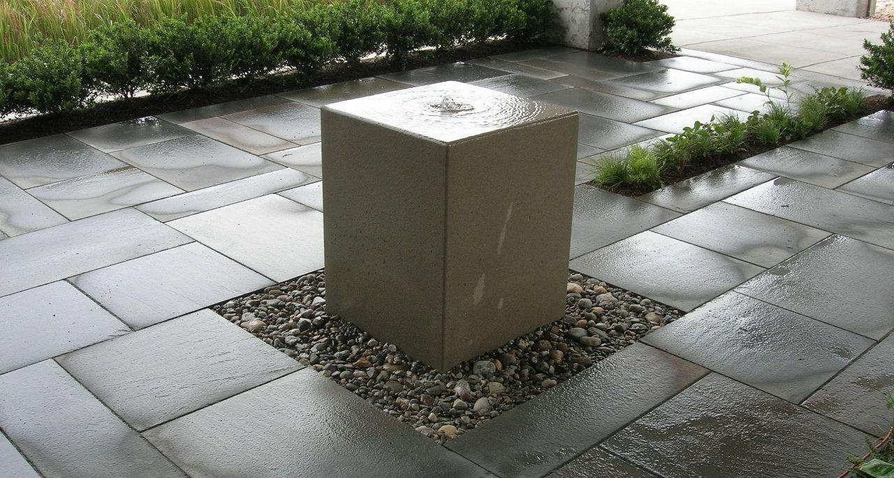 Concrete Fountain Toppers