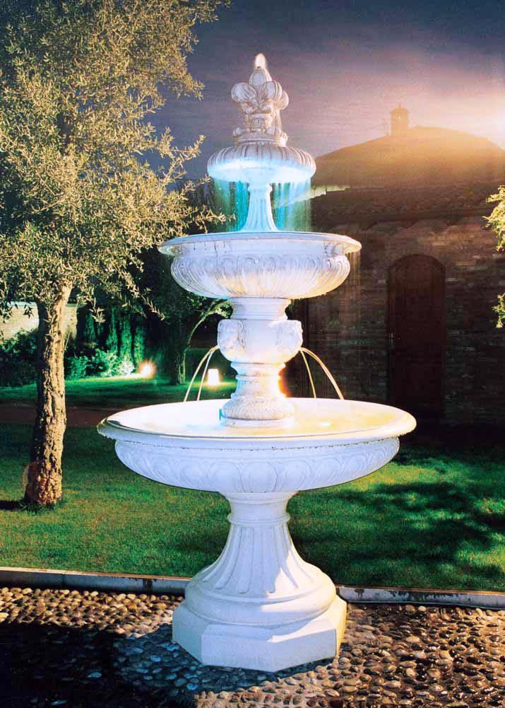 Concrete Garden Fountain