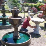 Concrete Garden Fountains