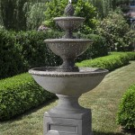 Concrete Outdoor Fountain