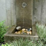Concrete Wall Fountain