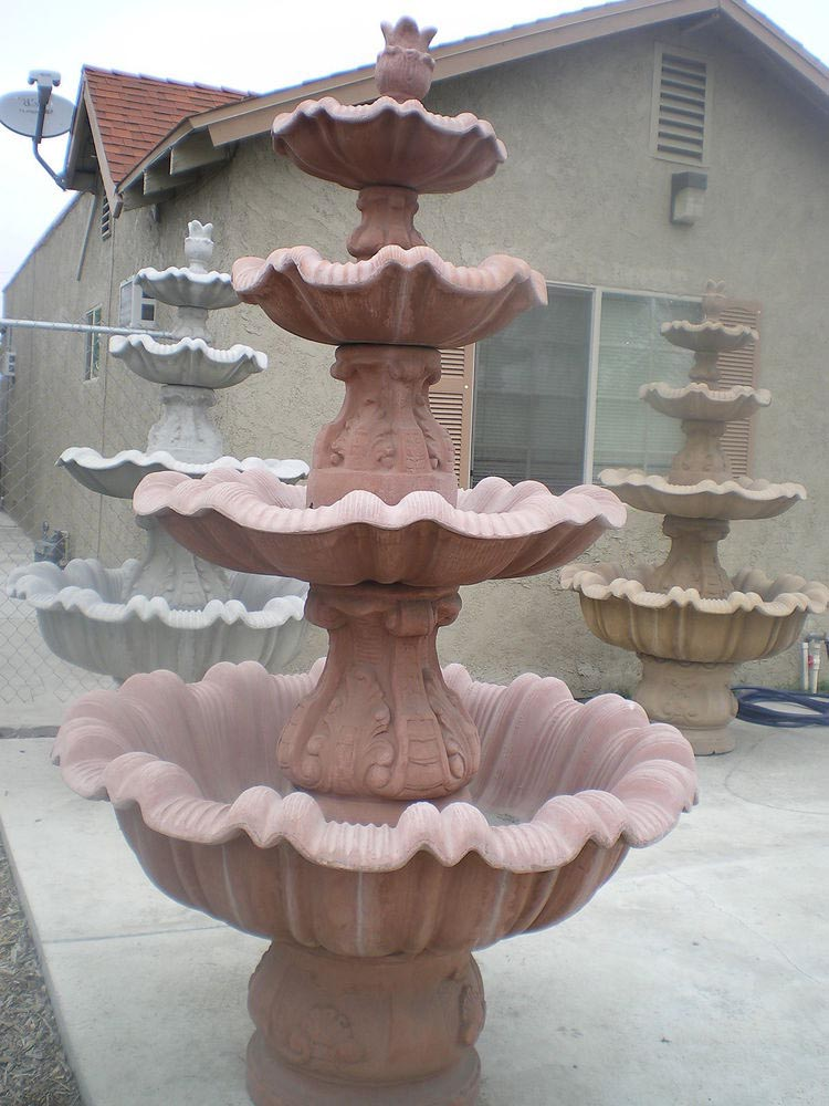 Concrete Water Fountain Molds