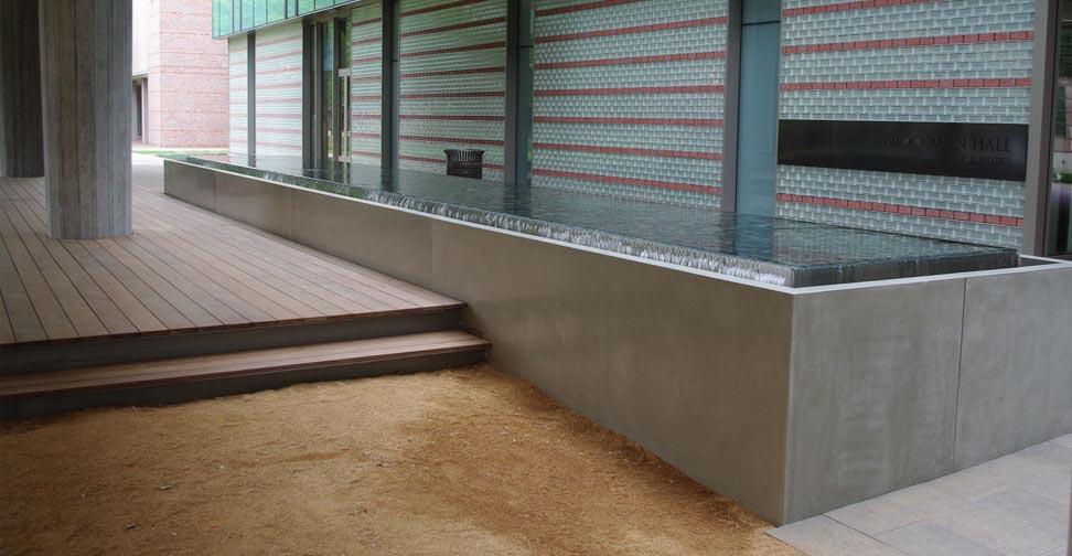Concrete Water Fountain Sealer